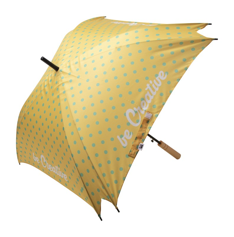 CreaRain Square RPET - custom made paraplu
