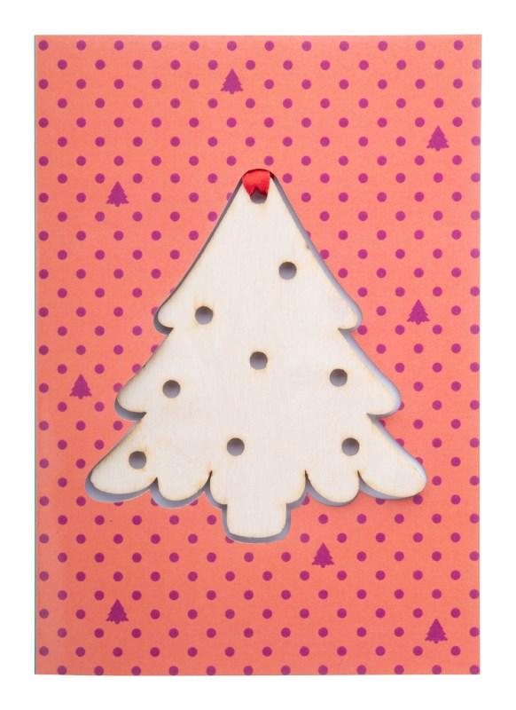 TreeCard - Kerstkaart, kerstboom