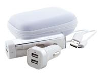 Nacorap - USB power bank met lader