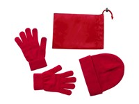 Duvel - muts en handschoenen set
