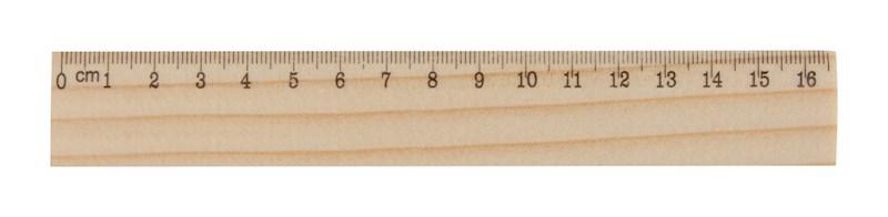 OneSix - liniaal grenen hout