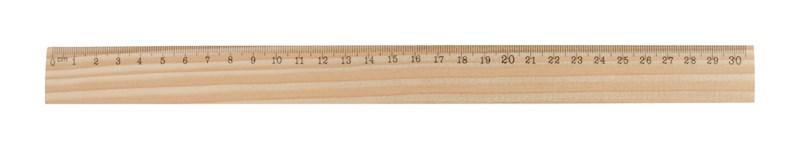 ThreeO - liniaal grenen hout