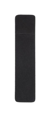 zwart velours pennenetui