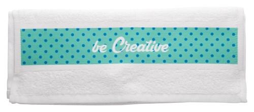 handdoek met sublimatiedruk