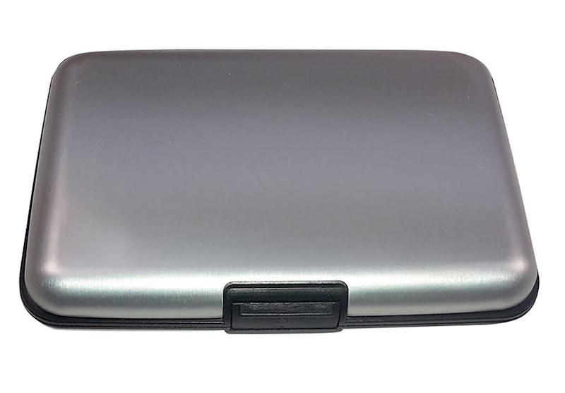 Metal Creditcard Holder Zilver acc. Zilver