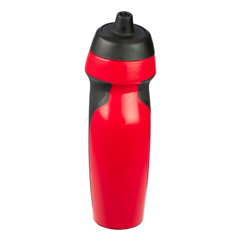 Bidon / sportfles Rood580 ml, rubber grip, BPA Free