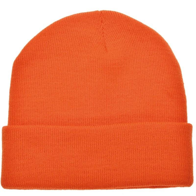 Gebreide Muts Oranje acc. Oranje