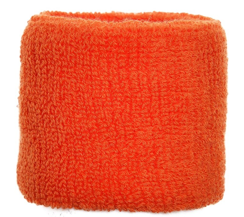 Polsband 6cm Oranje acc. Oranje