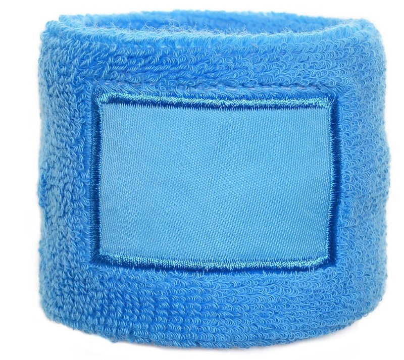 Polsband 6cm Met Label Lichtblauw acc. Lichtblauw