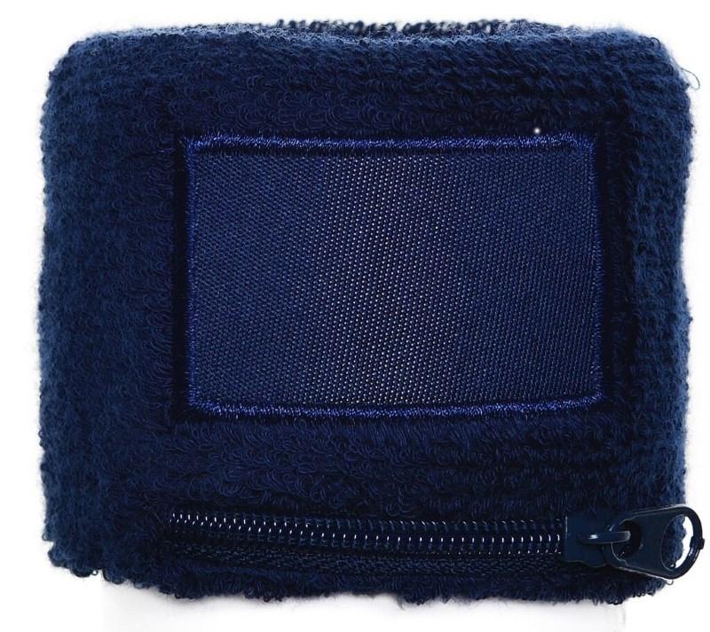 Polsbandje Met Rits 6cm Met Label Navy acc. Navy