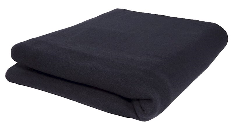 Picknickkleed 250 gr/m2 Zwart acc. Zwart