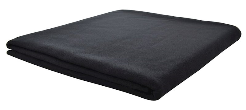 Picknickkleed Zwart acc. Zwart