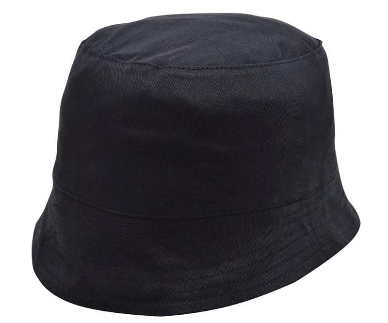 Promo Vissershoed Zwart acc. Zwart