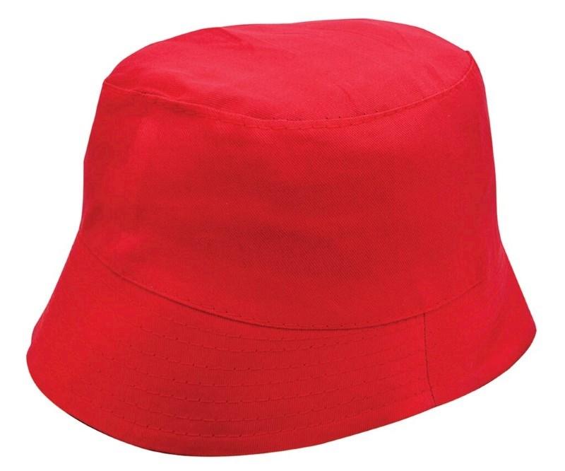 Promo Vissershoed Rood acc. Rood