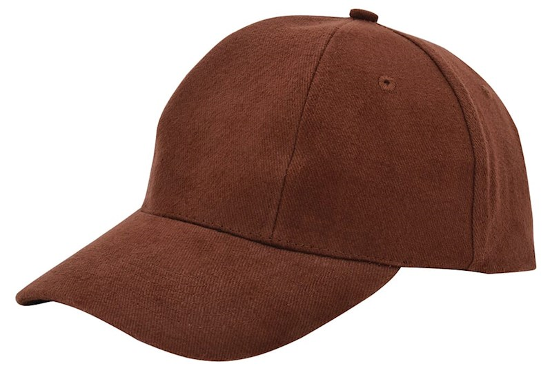 Turned Brushed Cap Bruin acc. Bruin
