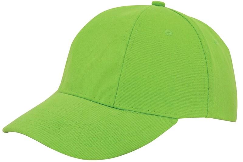 Turned Brushed Cap Groen acc. Groen