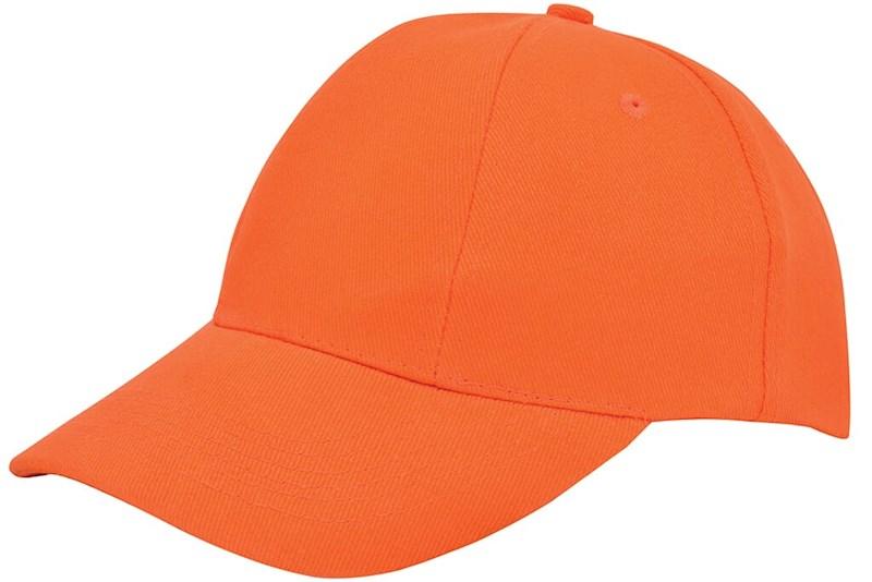 Turned Brushed Cap Oranje acc. Oranje