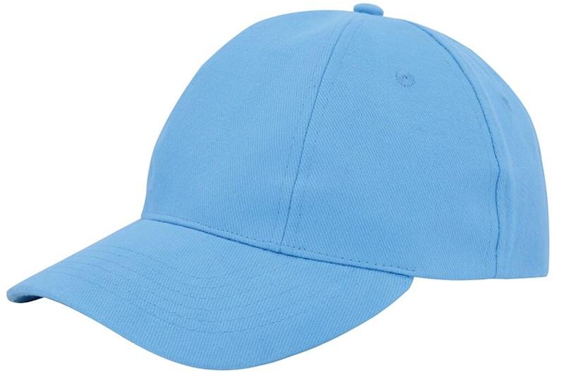 Turned Brushed Cap Lichtblauw acc. Lichtblauw