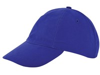 Kinder Brushed Promo Cap Royal acc. Royal