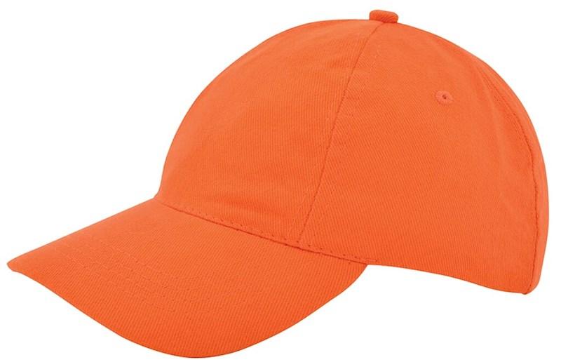 Kinder Brushed Promo Cap Oranje acc. Oranje