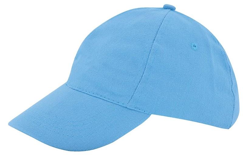 Kinder Brushed Promo Cap Lichtblauw acc. Lichtblau