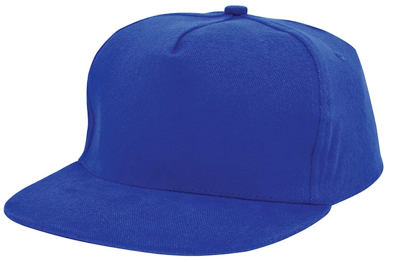 Brushed Honkbal Cap Royal acc. Royal