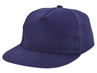 Brushed Honkbal Cap Navy acc. Navy