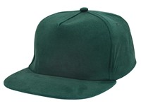 Brushed Honkbal Cap Bottle Green acc. Bottle Green