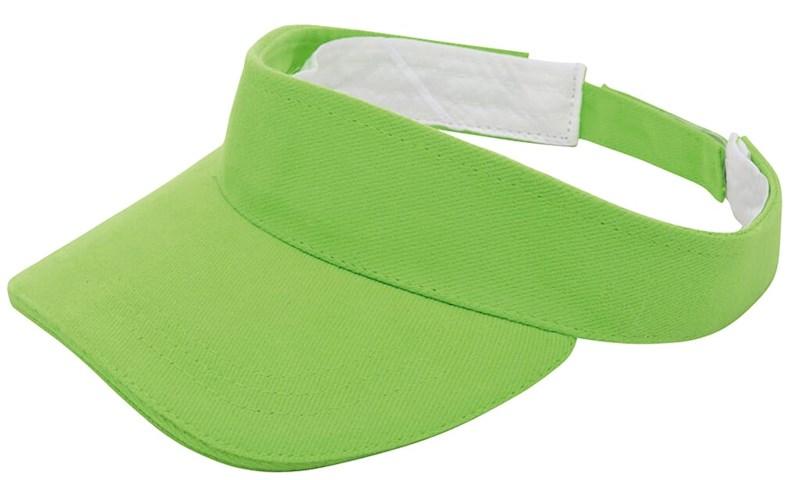 Brushed Zonneklep Groen acc. Groen