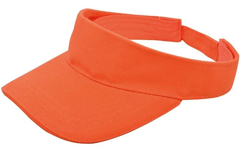 Brushed Zonneklep Oranje acc. Oranje