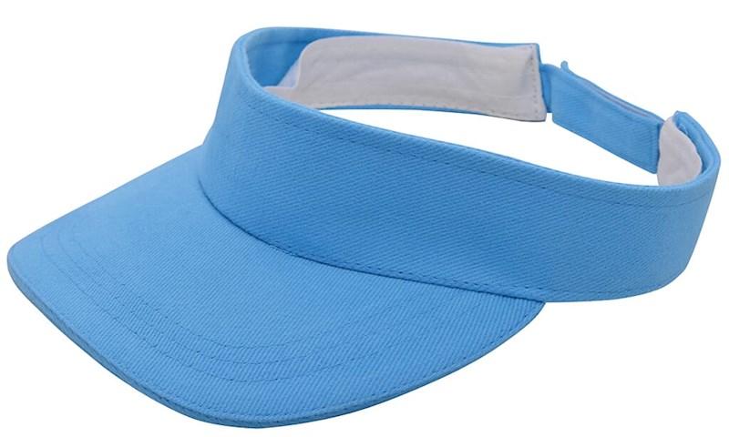 Brushed Zonneklep Lichtblauw acc. Lichtblauw