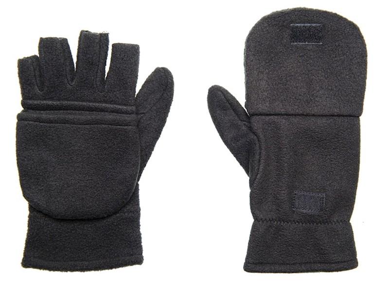 Half-vinger Handschoenen 280 gr/m2 Zwart acc. Zwar