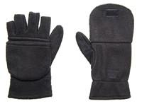 Half-vinger Handschoenen 280 gr/m2 Zwart acc. Zwart