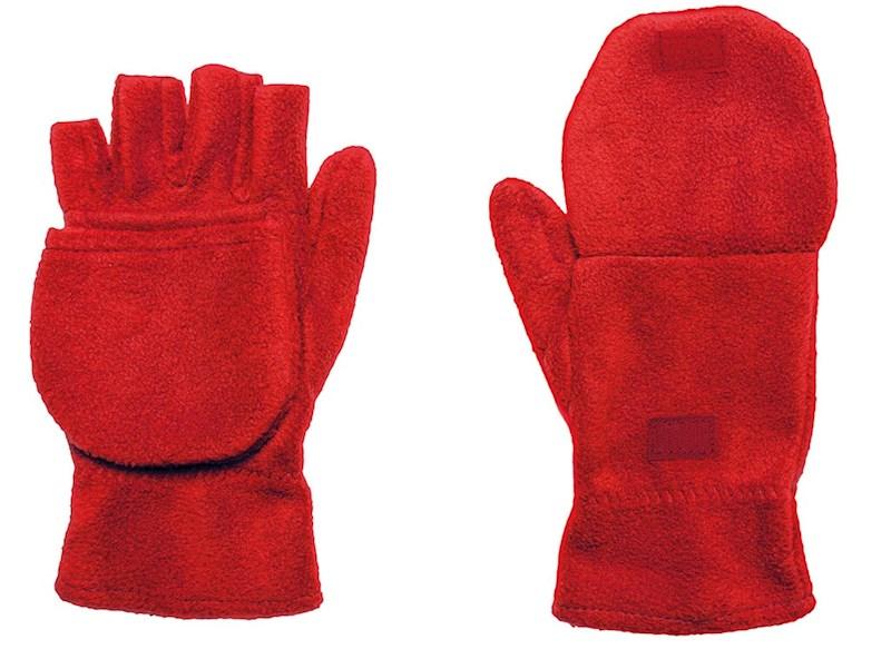 Half-vinger Handschoenen 280 gr/m2 Rood acc. Rood