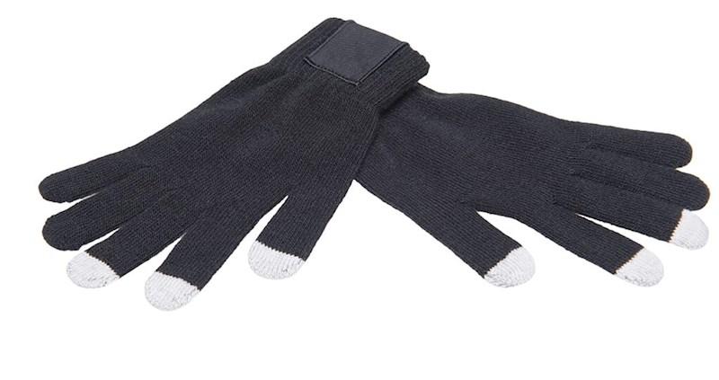 Touchscreen Handschoenen met Label Black M/L