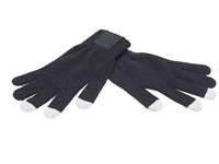 Touchscreen Handschoenen met Label Black XL/XXL