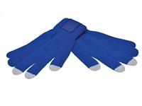 Touchscreen Handschoenen met Label Kobalt M_L