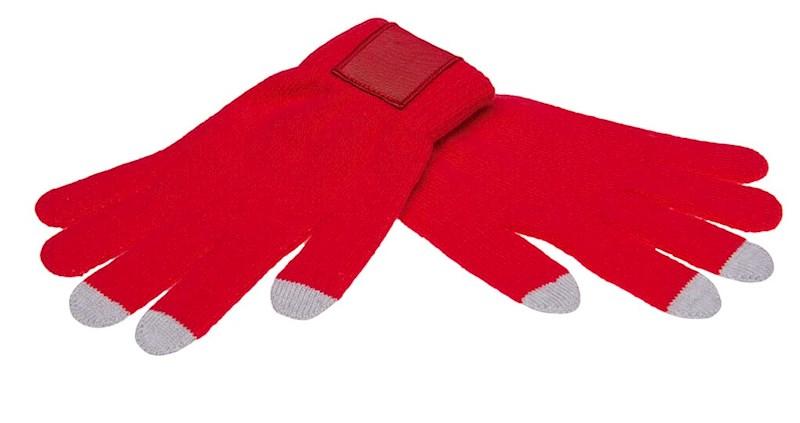 Touchscreen Handschoenen met Label Rood XL/XXL