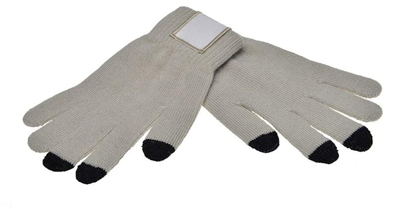 Touchscreen Handschoenen met Label Grey M/L