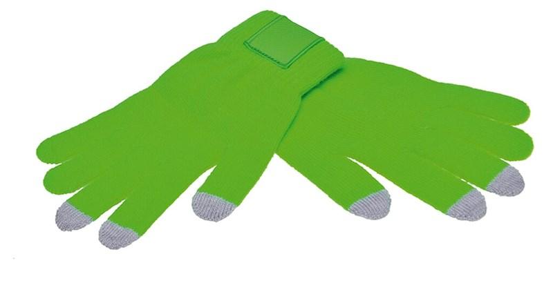Touchscreen Handschoenen met Label Groen XL/XXL