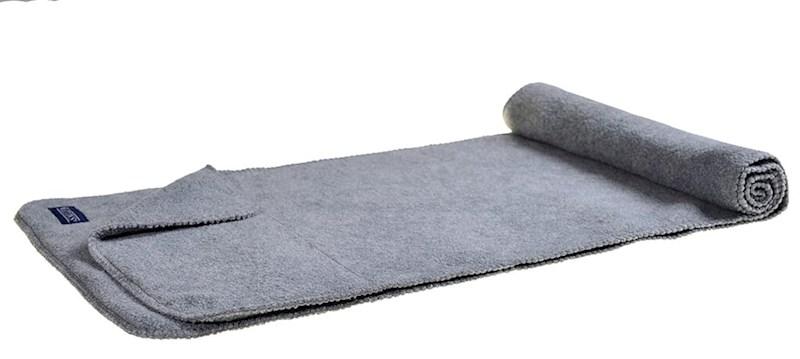 Nilton`s Sjaal de Luxe 280gr/m2 Grijs acc. Grijs