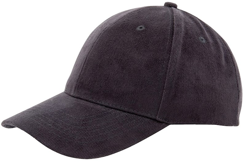Heavy Brushed Cap Zwart