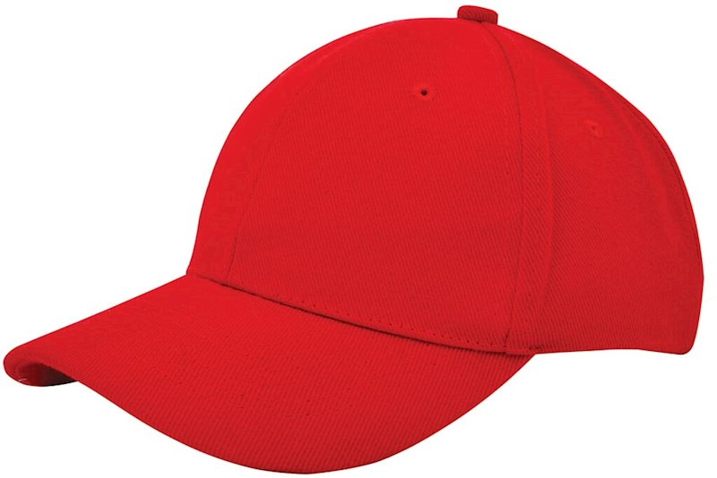 Heavy Brushed Cap Rood acc. Rood