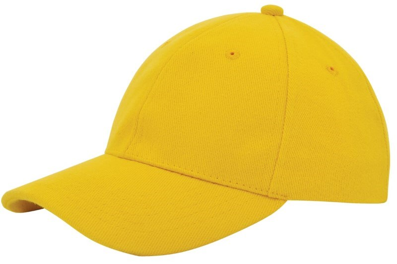 Heavy Brushed Cap Geel acc. Geel