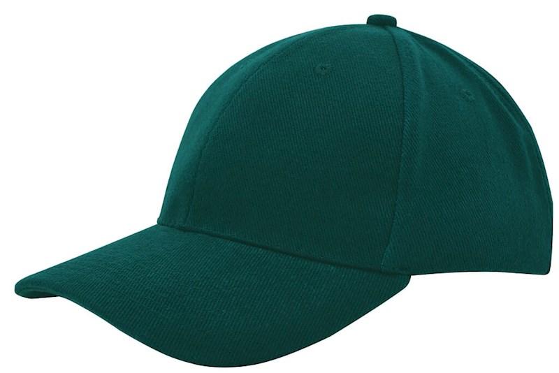 Heavy Brushed Cap Bottle Green acc. Bottle Green