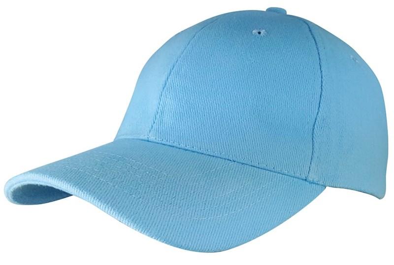 Heavy Brushed Cap Licht Blau acc. Licht Blau
