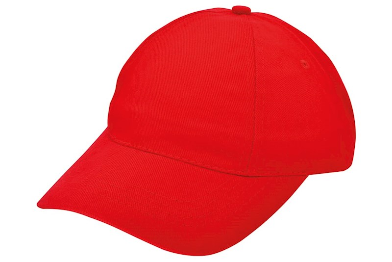 Brushed Promo Cap Rood acc. Rood