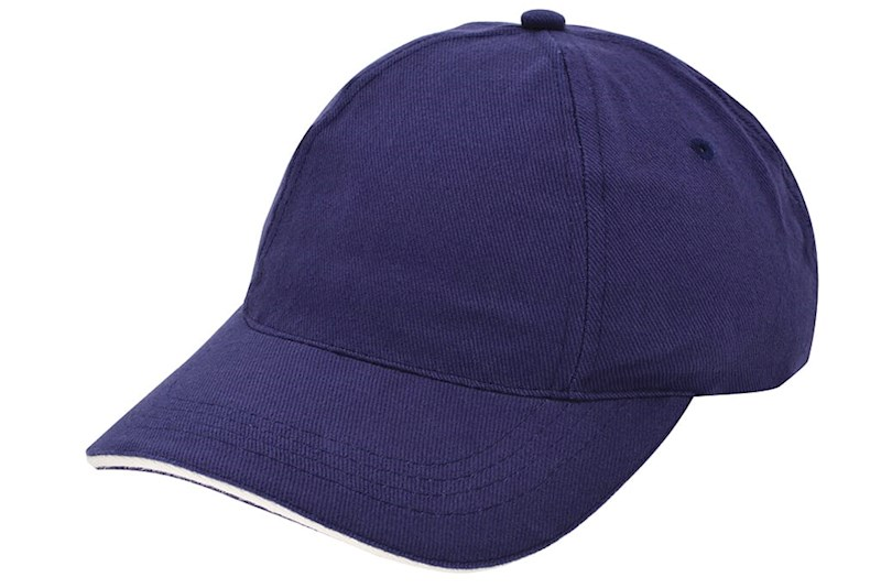 Brushed Promo Cap Navy acc. Naturel