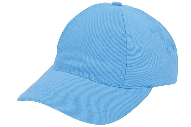 Brushed Promo Cap Lichtblauw acc. Lichtblauw
