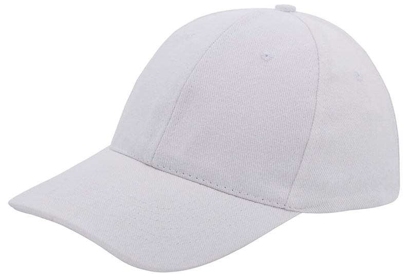 Brushed Twill Cap Wit acc. Wit
